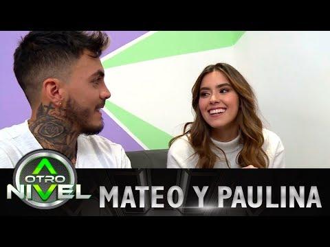 Mateo Carvajal le leyó el rostro y las manos a Paulina Vega en A Otro Nivel 2017
