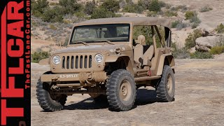 http://www.TFLcar.com ) The Jeep Wrangler JK2A Staff Car Concept is one old school Jeep that will most likely never be built....and that's a shame. Because this ...