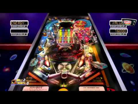 15 min z Pinball Hall of Fame Williams Collection - PS3 gameplay z komentarzem by maxim