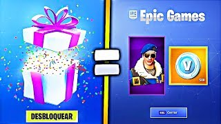 FORTNITE REGALA THIS SKIN FOR FREE! FREE SKIN REGALA FORTNITE
