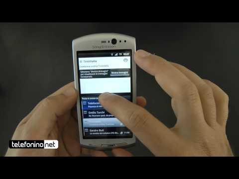 Sony Ericsson Xperia Neo videoreview da Telefonino.net
