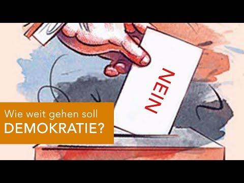 Wie weit soll DEMOKRATIE gehen?