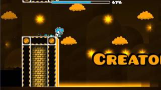 JEJE ( ͡° ͜ʖ ͡°) Geometry Dash [2.0] - The Glittery Road by CreatorCold - Mastergear