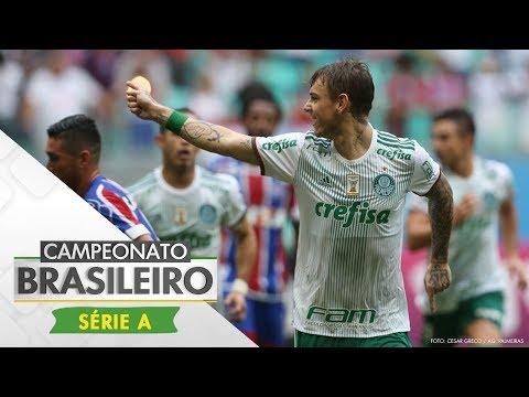 Melhores Momentos - Gols de Bahia 2 x 4 Palmeiras - Campeonato Brasileiro (18/06/2017)