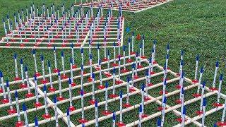 Launching 5,000 Model Rockets To Break World Record