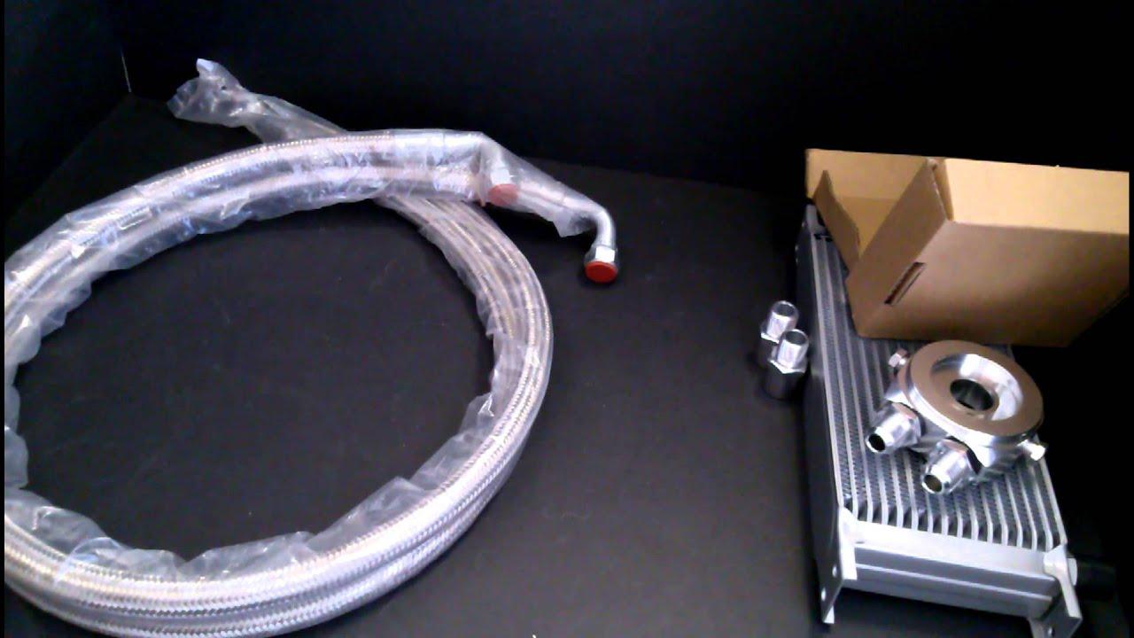 Universal Oil Cooler Kit Youtube