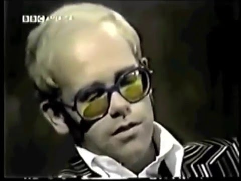 Michael Parkinson Show - Elton John - Interview during Febru