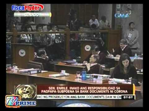 Miriam Defensor Santiago Nanermon sa Senado