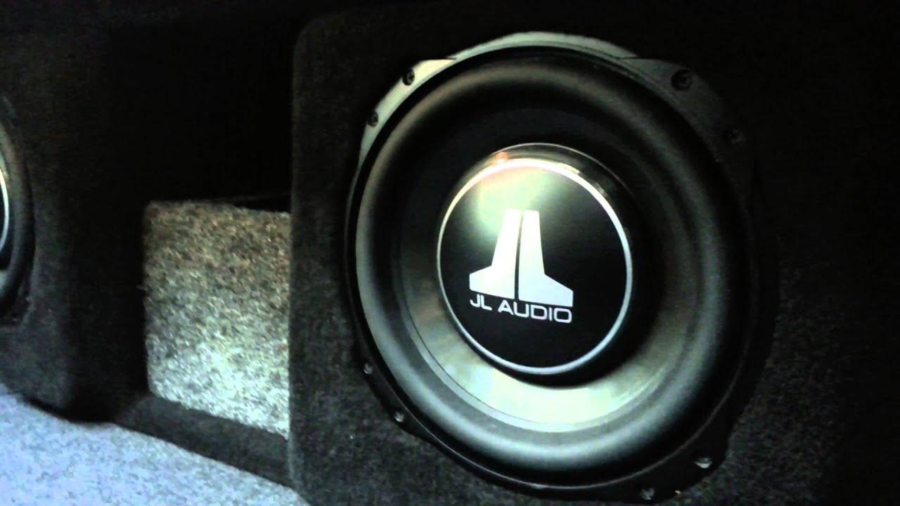 Custom Fiberglass Sub Enclosure For An Acura TL At Al Eds - Acura tl subwoofer enclosure