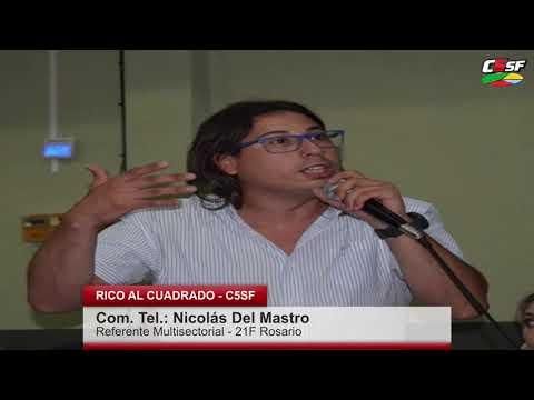 Del Mastro: Hay que estar al lado de los que se van cayendo