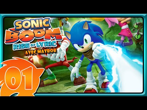 Sonic Boom [#1] - UN HÉRISSON BLEU DU FUTUR ?