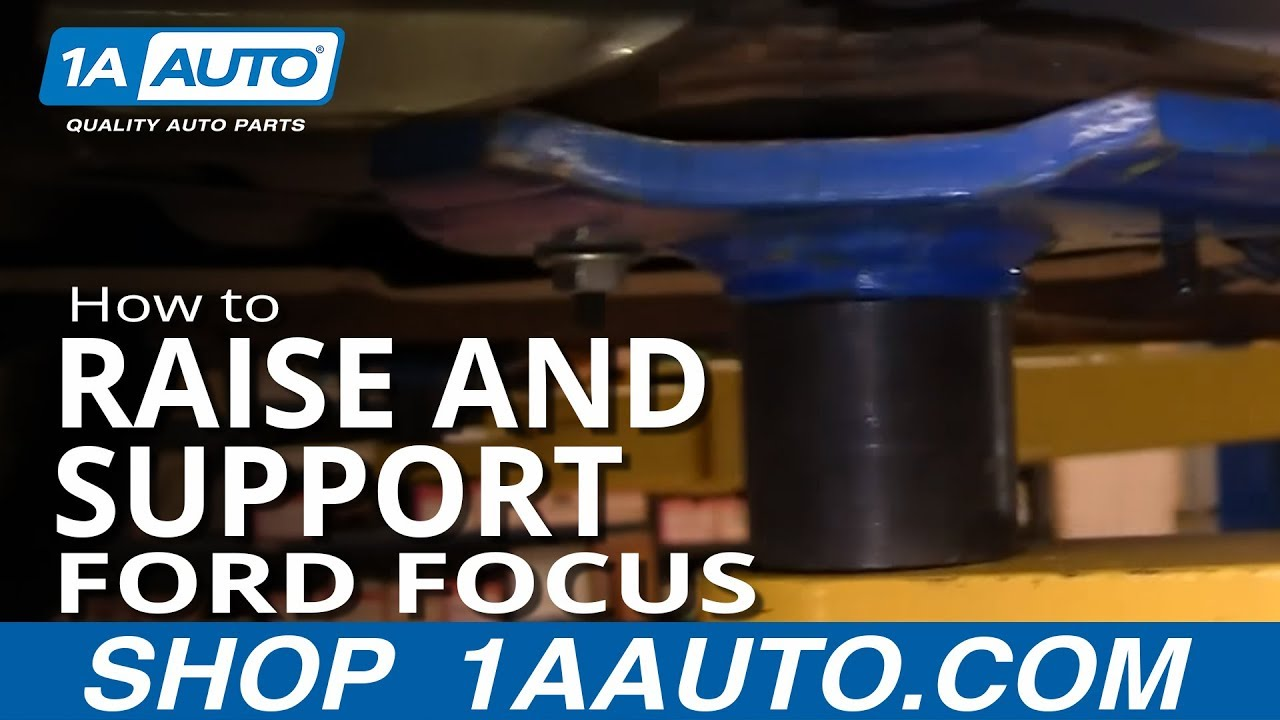 small resolution of how to raise and support 00 04 ford focus