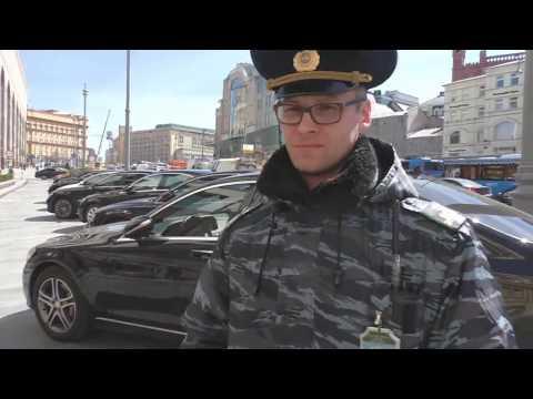 Самозахват территории министерства транспорта РФ. А чем занята полиция Москвы?