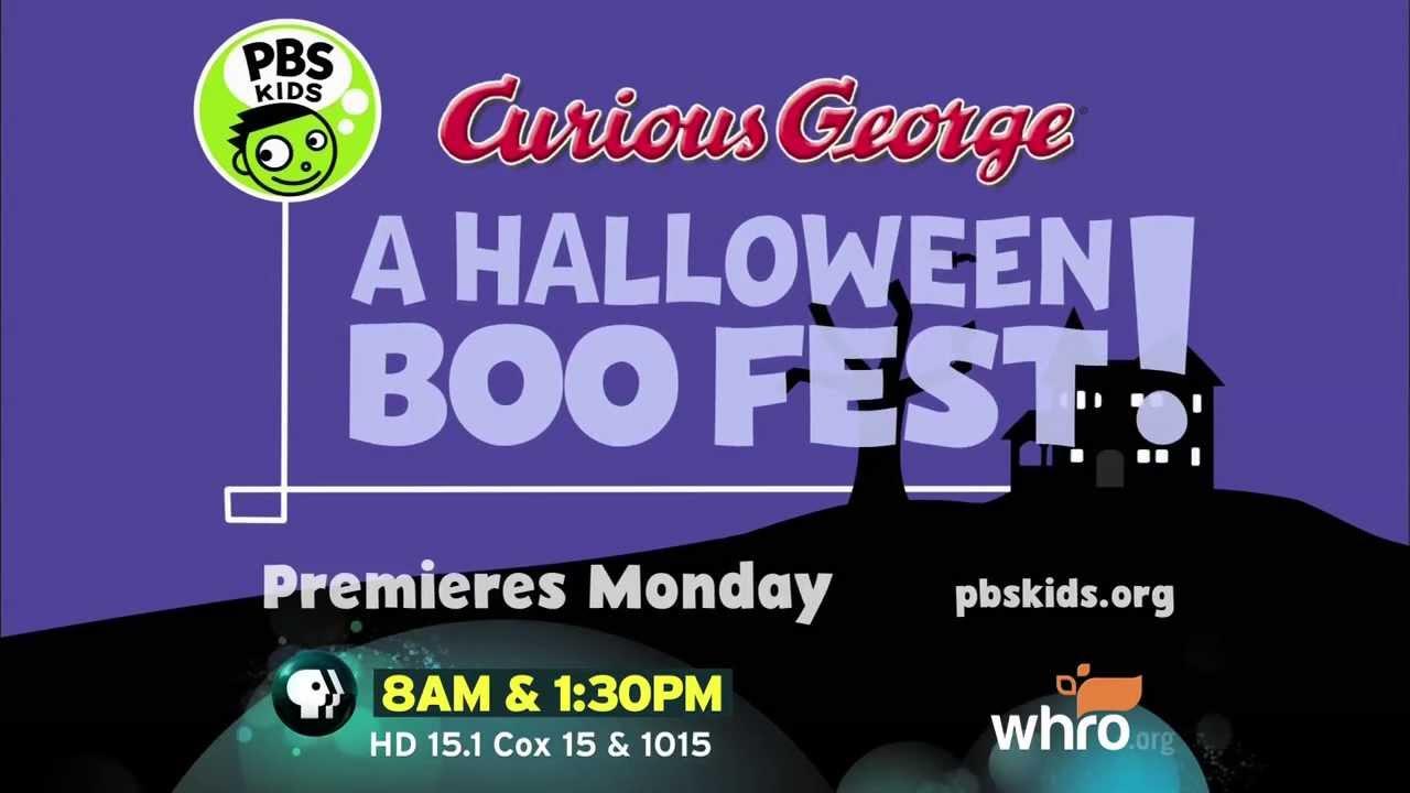 curious george a halloween boo fest youtube - Curious George Halloween Games
