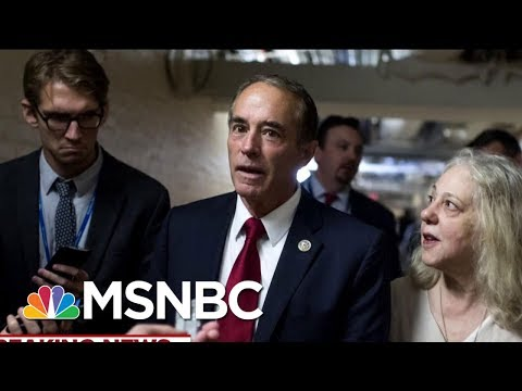 Rep. Chris Collins Arrested By The FBI On Securities Fraud Charges | Velshi & Ruhle | MSNBC
