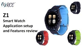 RCE - Z1 Smart Watch Overview and Application Setup