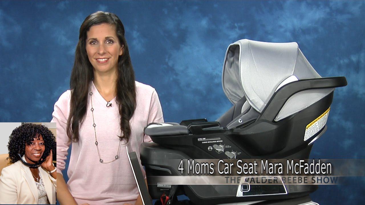 4 Moms Mara McFadden self installing car seat