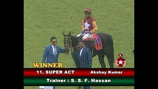 Super Act with Akshay Kumar up wins The Bangalore Turf Club Trophy 2019