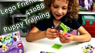 Lego Friends 41088 Puppy Training | Happy Tigerlily Kid Review