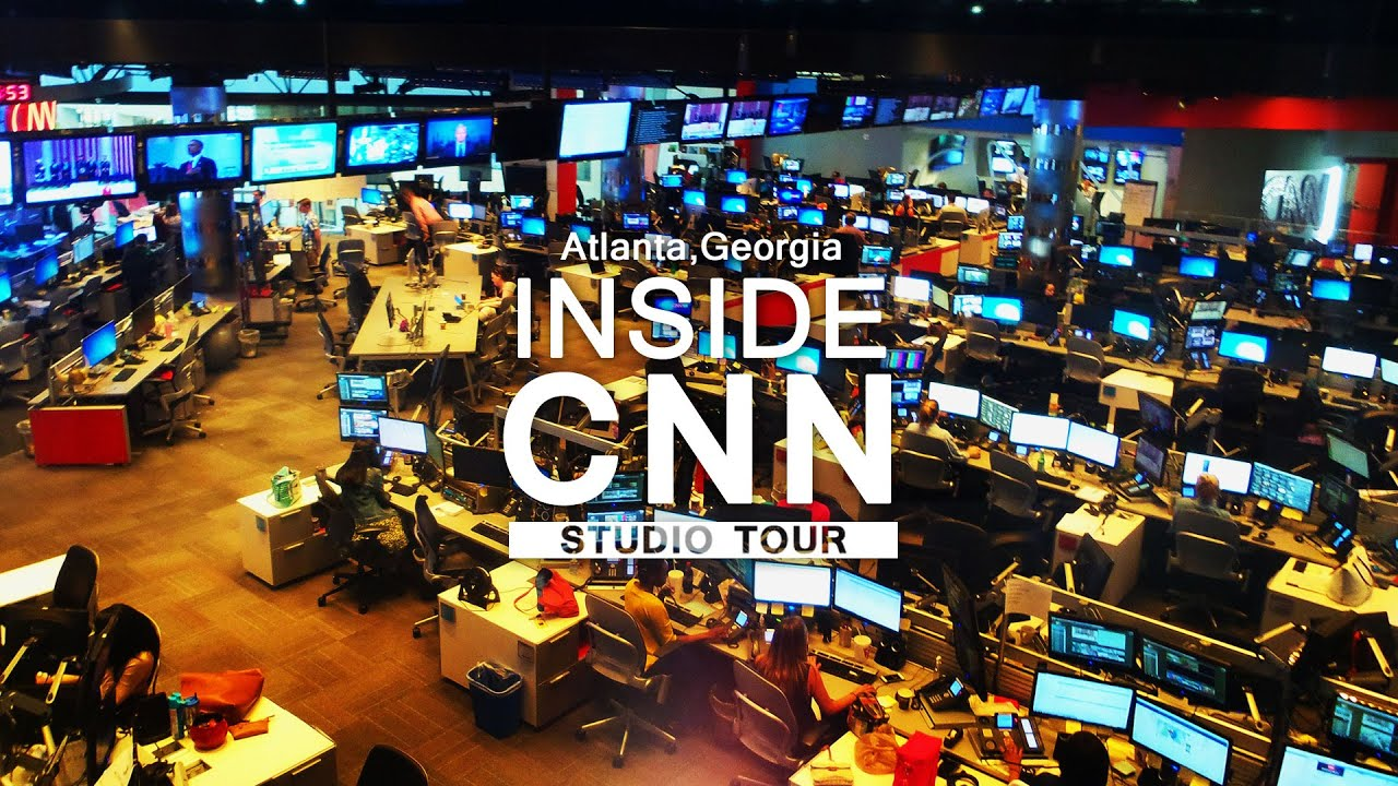 cnn studio tour experience television news youtube