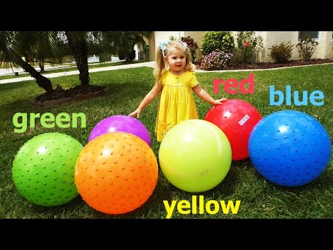 Thumbnail: Learn Colors with giant ball pit for Kids, Baby Play and Learn Colours education toy بيبي يلعب