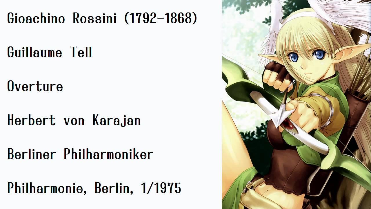 Karajan's Rossini: Guillaume Tell