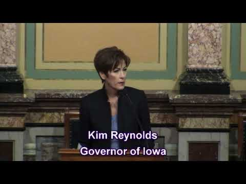 Iowa Governor Kim Reynolds' 2018 Condition of the State Address