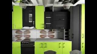 дизайн кухни 12 кв м, визуализация дизайна(Дизайн кухни не обходится без дизайнерских решений связанных с потолком и освещением, которое обычно крепи..., 2015-07-17T20:26:54.000Z)