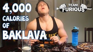 Eating 4,000 Calories Of Baklava | Furious Pete
