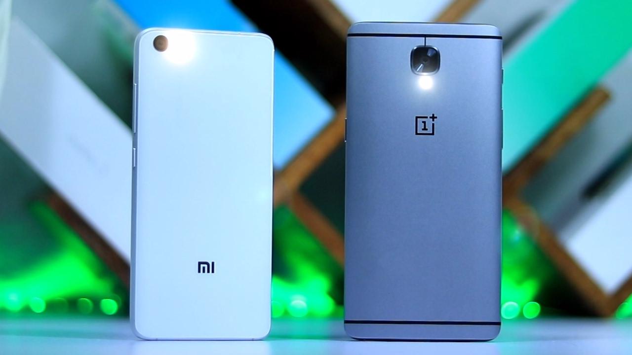 Xiaomi mi5 vs oneplus 2