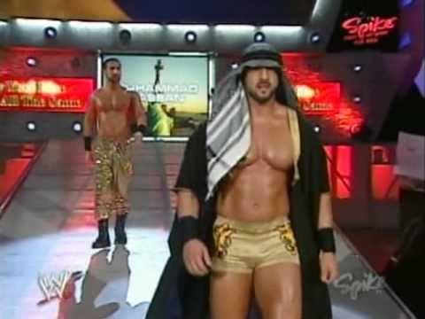 Muhammad Hassan & Daivari vs Shelton Benjamin