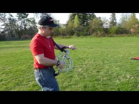 Thumbnail: Kite Reels / Wheels Are Great Kite Launching Winch Mechanisms & For Kite Flying