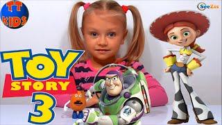 ✔ Історія Іграшок. Розпакування нового набору іграшок від Ярослави / Toy Story Disney and Yaroslava ✔