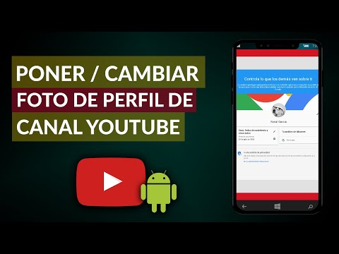 Cómo Poner o Cambiar la FOTO de PERFIL en mi Canal de YouTube Desde el Móvil en Android