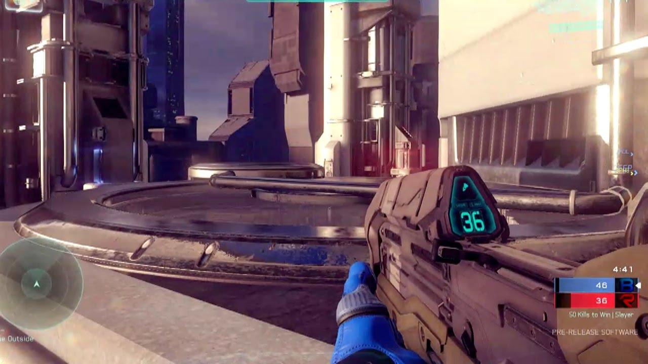 HALO 5 Gameplay - Halo 5 Multiplayer Arena Gameplay - YouTube