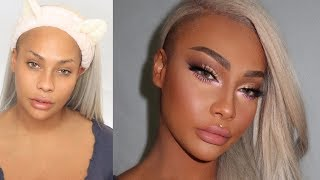 HOLIDAY GLITTER GLAM TRANSFORMATION | SONJDRADELUXE