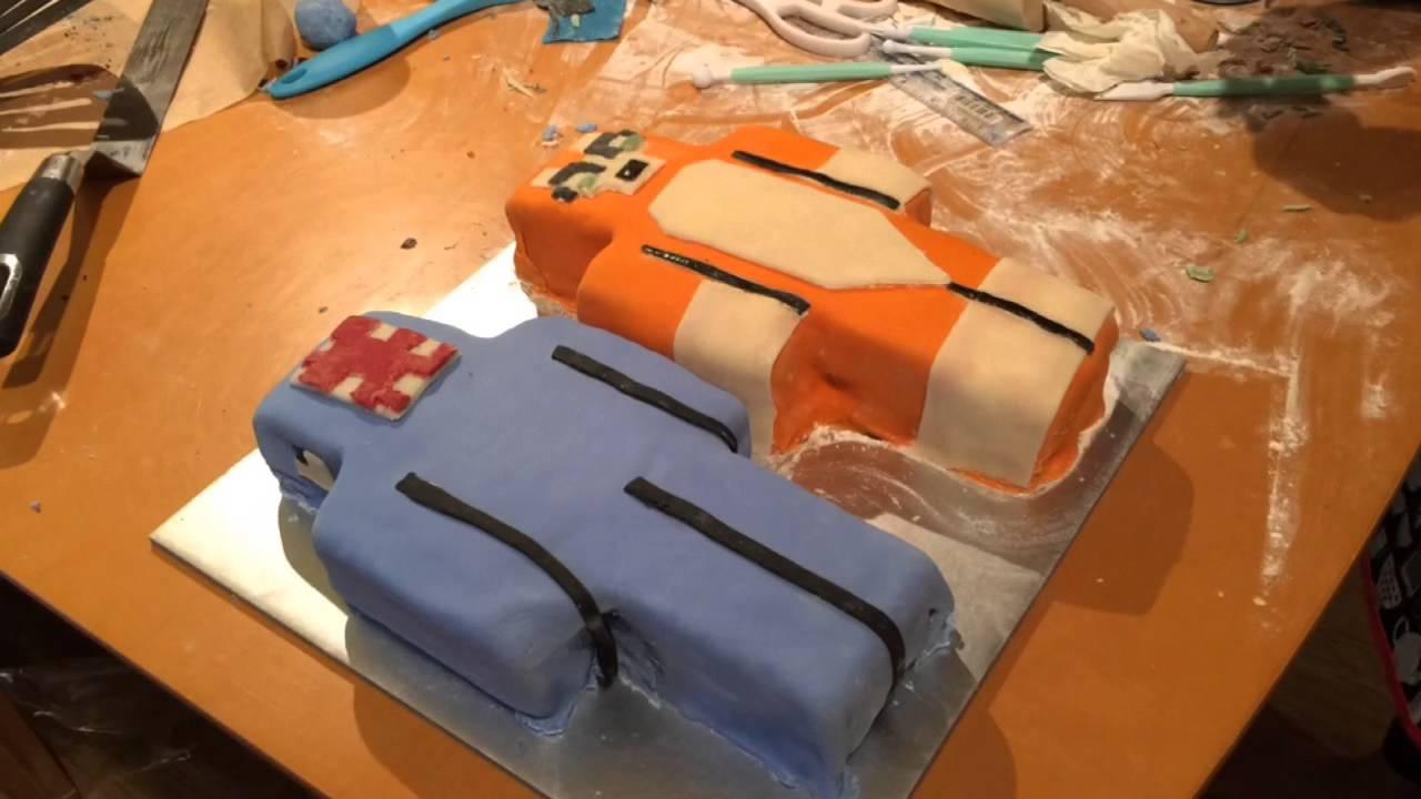Squid Stampy Birthday Cakes Youtube