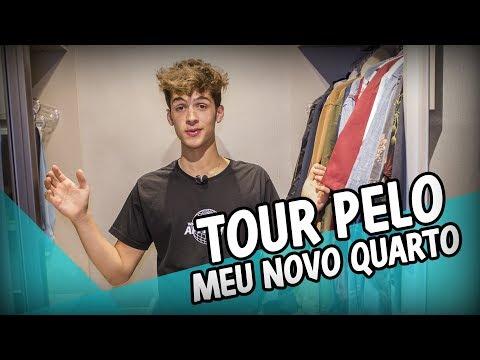 TOUR PELO MEU NOVO QUARTO  João Guilherme