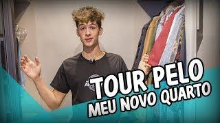 TOUR PELO MEU NOVO QUARTO // João Guilherme