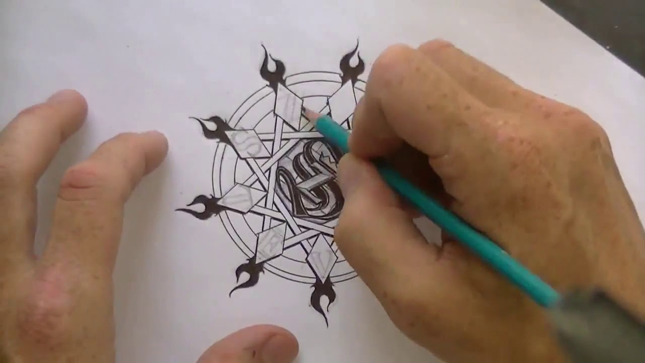 Hand Drawn Seal of the Living God High Speed ~ Lord Steven Christ