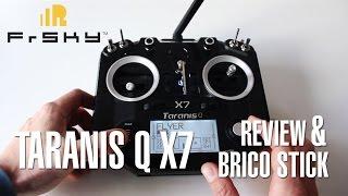 frsky taranis q x7 review brico stick modo 2