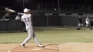 Dominick Vest - Baseball Highlights - Class of 2019