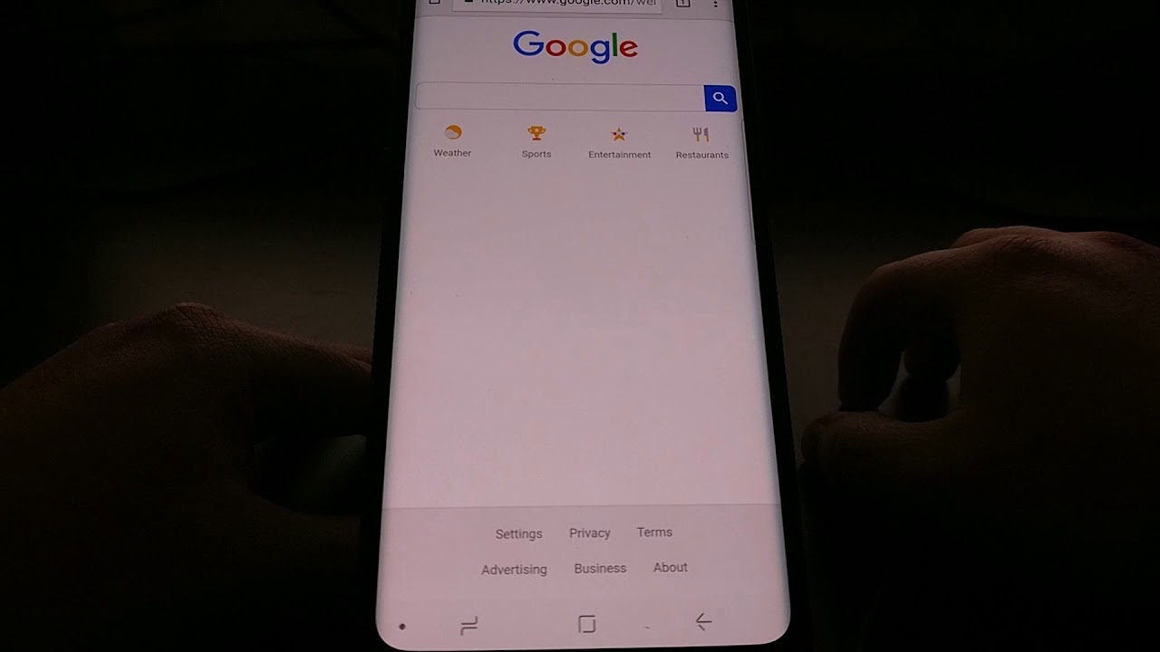 How to Hide the Navigation Bar on the Samsung Galaxy S9