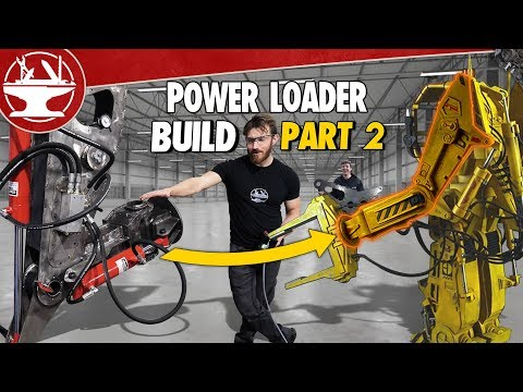 Building a 600lb MECH ARM! (POWER LOADER: PART 2)