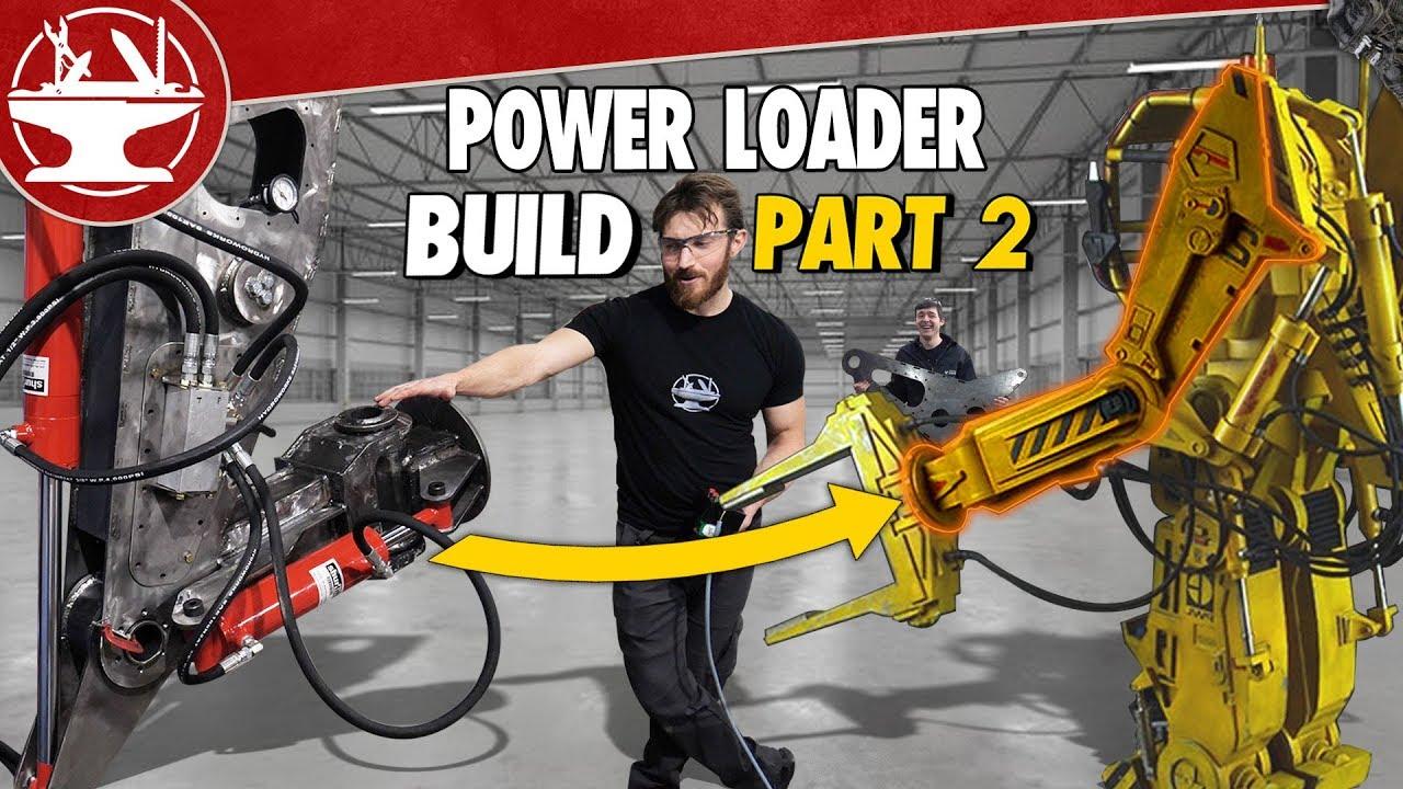 Building a 600lb MECH ARM! (POWER LOADER: PART 2)