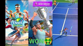 Tennis clash Best Sports Game with Multiplayer Mode Play with friends online screenshot 2