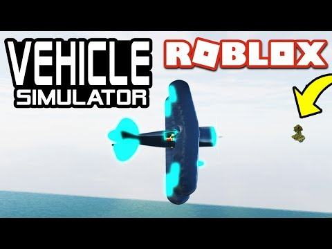 FLYING TO SECRET ISLANDS in Vehicle Simulator! | Roblox