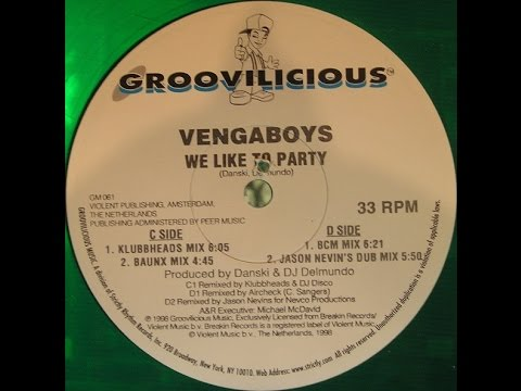 vengaboys we like to party klubbheads mix vinyl 1998. Black Bedroom Furniture Sets. Home Design Ideas