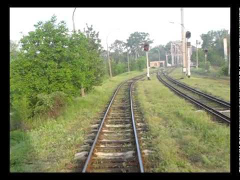 Trecerea Prutului cu trenul la Ungheni