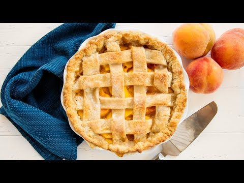 How To Make The Perfect Peach Pie | The Stay At Home Chef